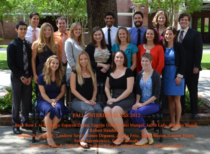 Fall 2012 Cohort