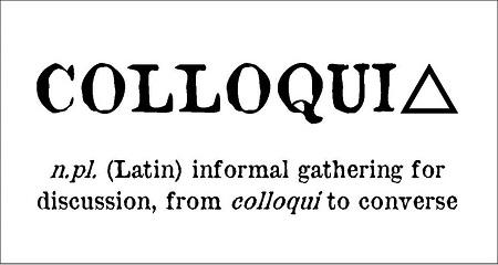 colloquiua definition