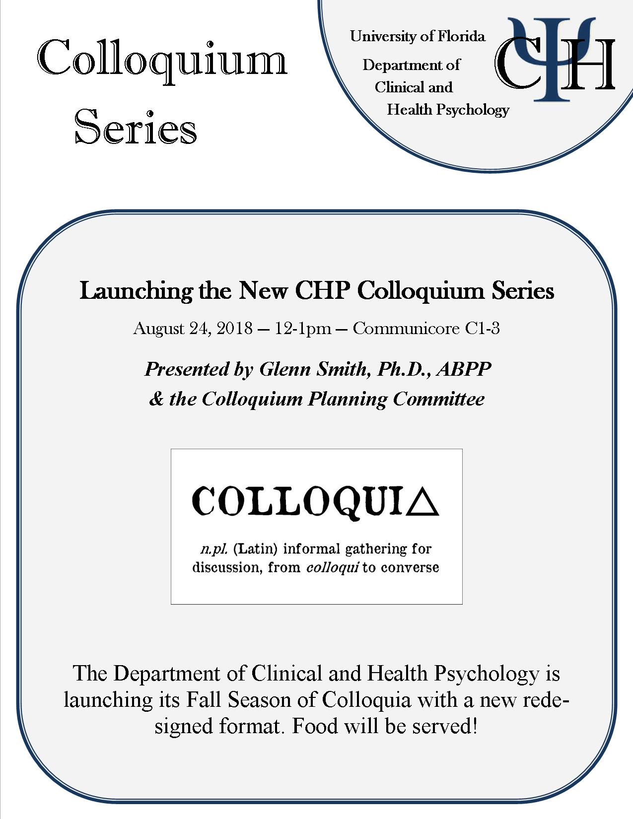 efb4fc7f51883 Launching the New CHP Colloquium Series » Department of Clinical and ...