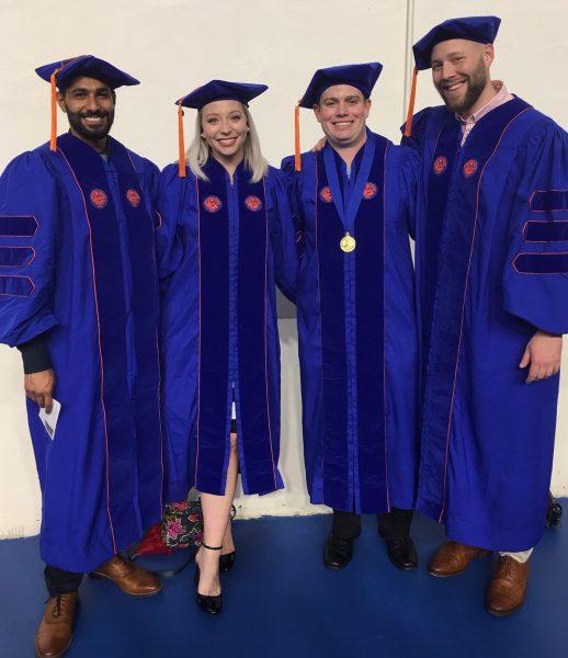 CHP doctoral graduates, December 2018