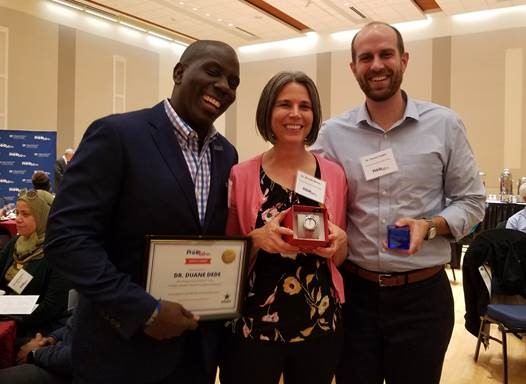 Dede, Wiens and Fedele win recognition of service to UF