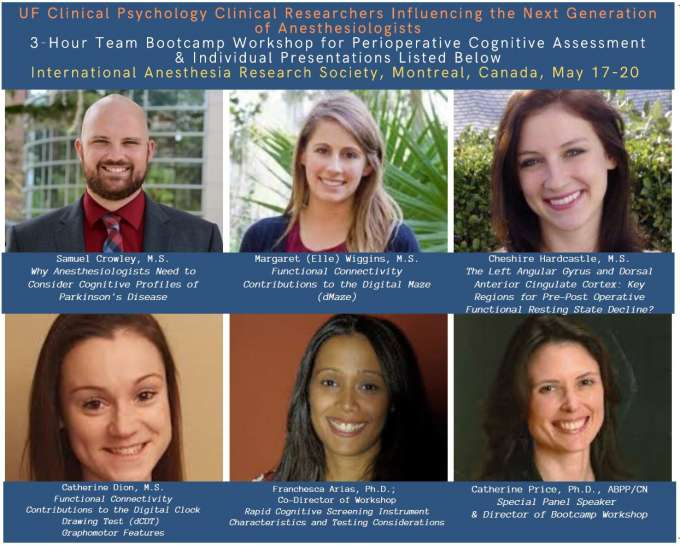 UF Team offers perioperative cognitive assessment bootcamp