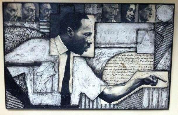 MLK -King's life Larry Winston