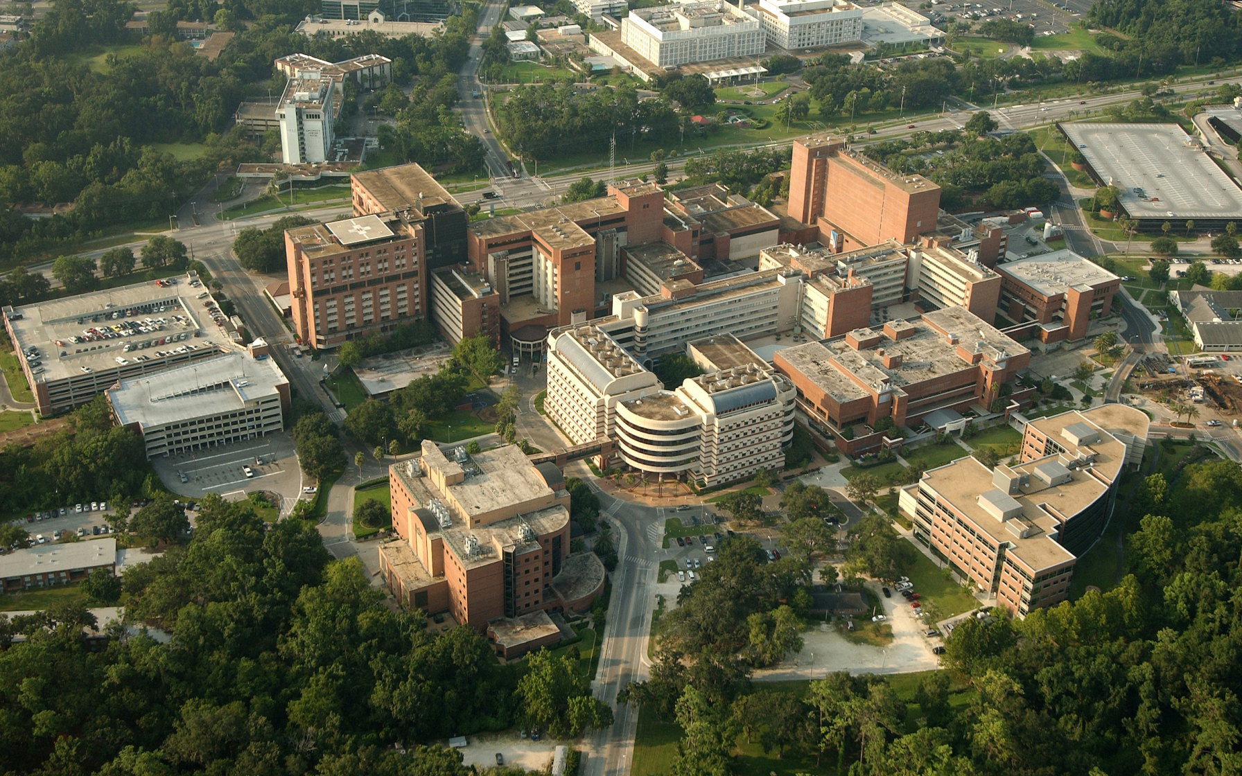 The medical campus at the University of Florida